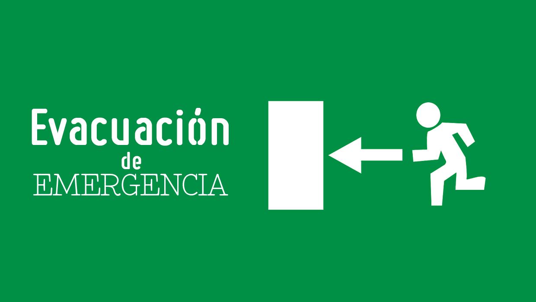 EVACUACIÓN EN CASO DE EMERGENCIA - OFICINAS ADMINISTRATIVAS