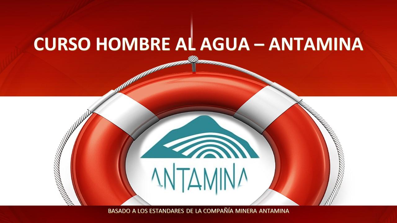 HOMBRE AL AGUA - ESTANDAR C.M. ANTAMINA